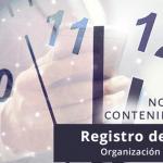 REGISTRO DE JORNADA: ORGANIZACION E IMPLANTACION